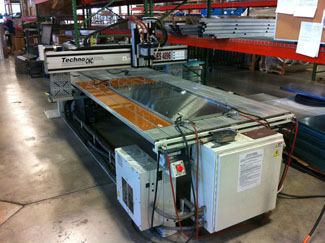 CaptiveAire's automated weld system, based upon a CNC gantry system from Techno, Inc.