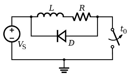 diode to reduce noise
