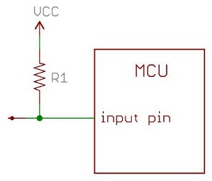 Pull up resistor should be added to unused inputs