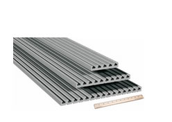 Aluminum extrusion table plates