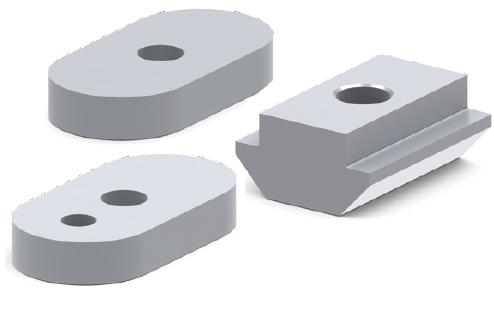 T Nuts for Wide Table Plate Extrusions