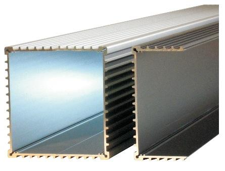 53x110mm EUROCARD Shell Enclosure Profile