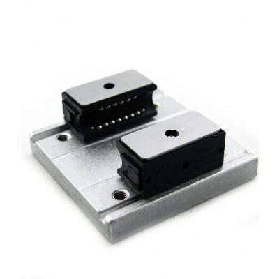 Dual track carriage for LFS 12-10 with 40mm linear bearings