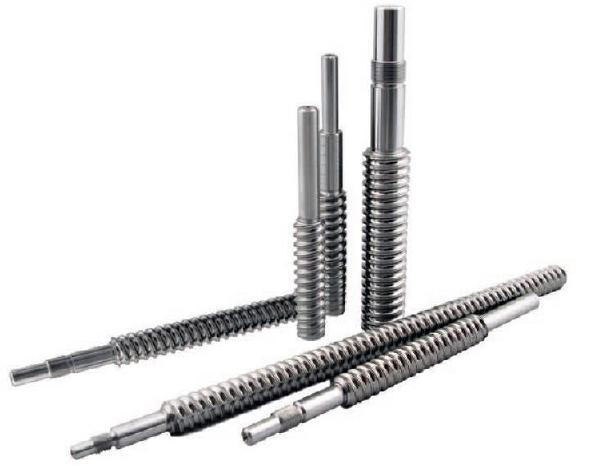 Machined ball screws available with one or both ends machined