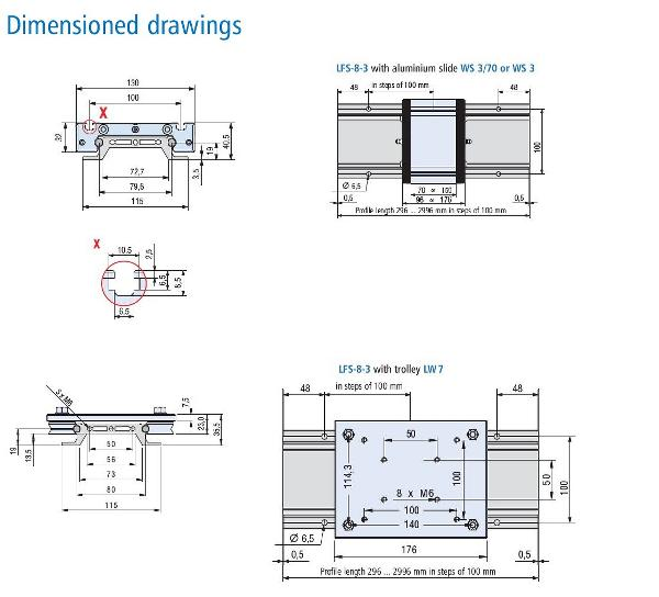 LFS-8-3 Dimensioned Drawing