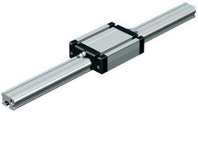 Narrow profile 8mm rail and bearings