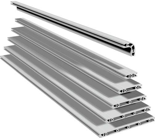 aluminum profile panels high load profile panels. Black Bedroom Furniture Sets. Home Design Ideas
