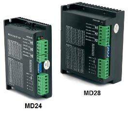 MD24 and MD28 Stepper Drivers