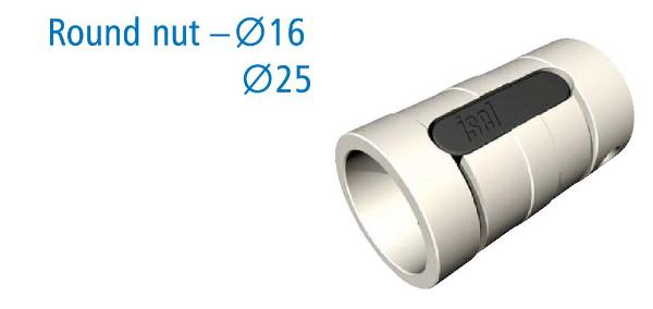 Series KM 16 mm Diameter Ball Nut