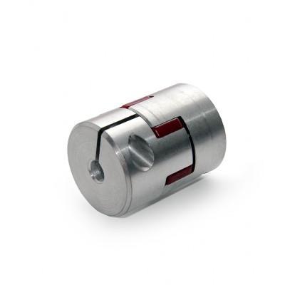 "1//4/"" x 1//2/"" Aluminum Flexible Shaft Clamp Coupler Coupling Linear Motion Black"