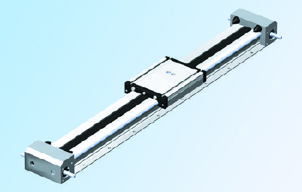 LEZ 2 belt actuator with shaft side