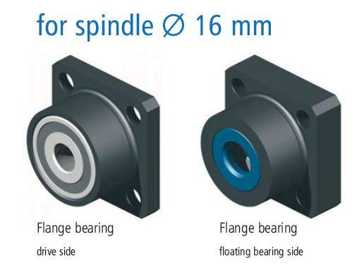 16mm End Bearing Support Block