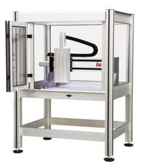 XYZ Cartesian Gantry Robot on Stand with Enclosure
