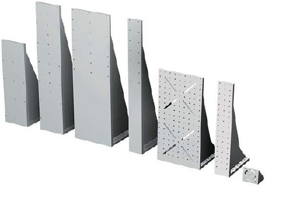 WV Aluminum Right Angle Brackets